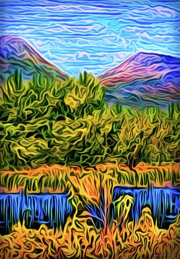 Deep Mountain Waters by Joel Bruce Wallach