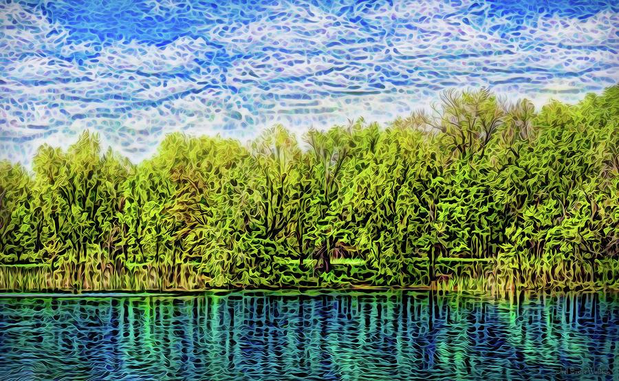 Deep Peace Radiance by Joel Bruce Wallach
