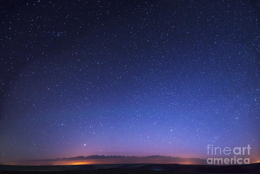 Atmosphere Photograph - Deep Sky Astrophoto by Standret