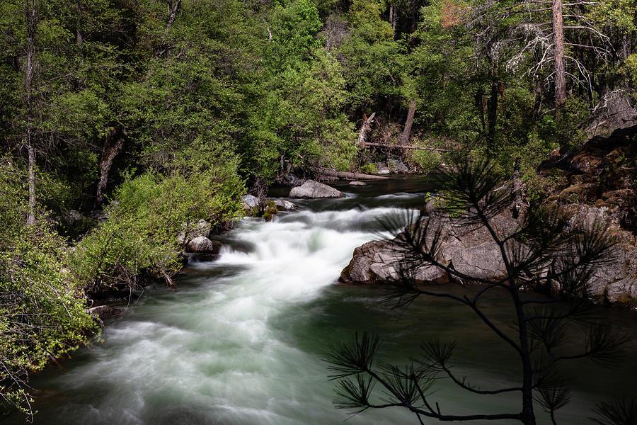 Creek Photograph - Deer Creek Rocky Pool by John Heywood