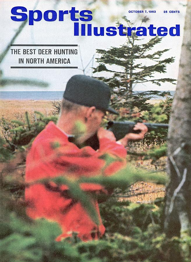 Deer Hunting At Anticosti Island Sports Illustrated Cover Photograph by Sports Illustrated