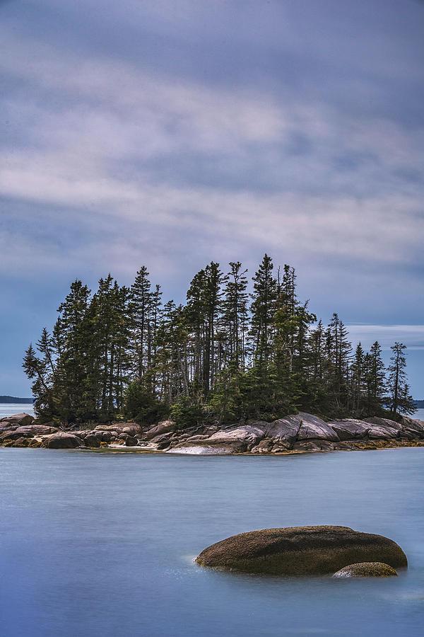 Deer Isle  by Robert Fawcett
