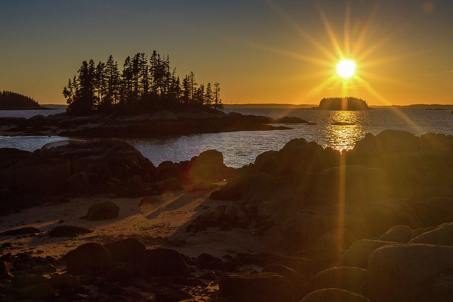 Deer Isle Sunset I by Steven David Roberts