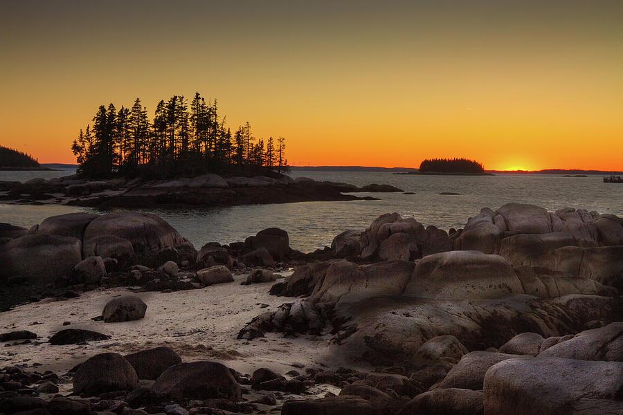 Deer Isle Sunset II by Steven David Roberts