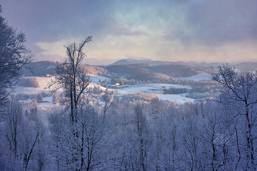 Deer Valley Winter View by Meta Gatschenberger