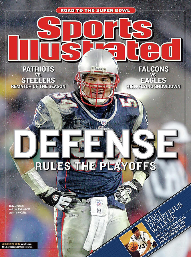 Defense Rules The Playoffs Road To The Super Bowl Sports Illustrated Cover Photograph by Sports Illustrated