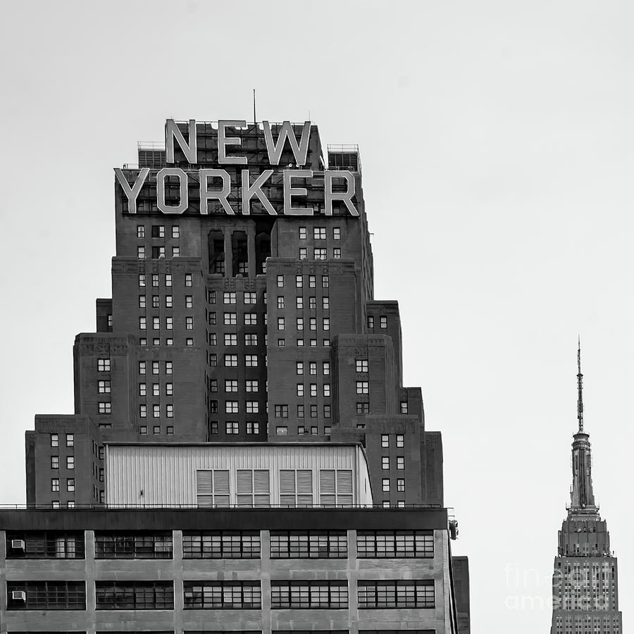 Empire State Building Photograph - Defining New York by Az Jackson