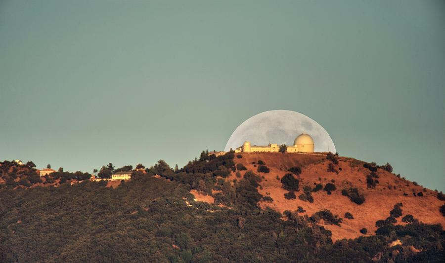 Deflector shield over Lick Observatory by Quality HDR Photography