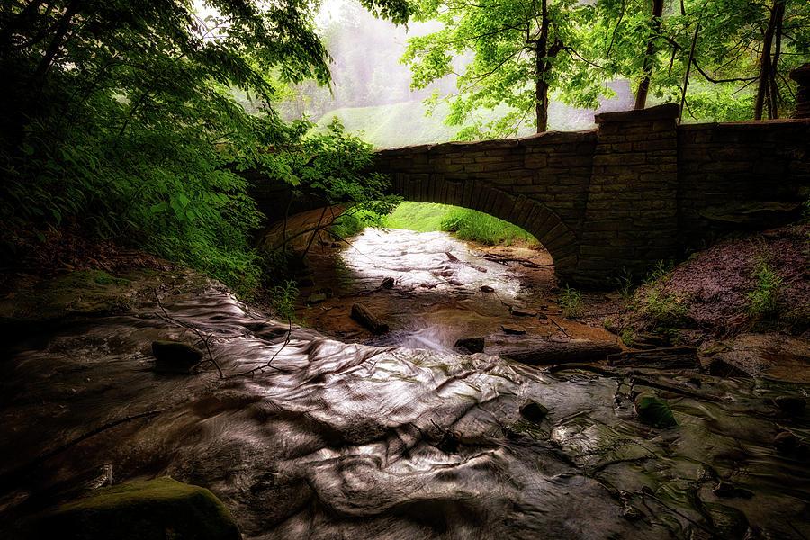 Deh-ge-wa-nus Creek by Rick Berk