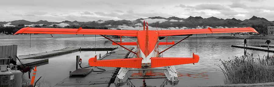 Airplane Photograph - Dehavilland Beaver Pano by Peter J Sucy