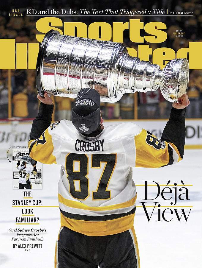 Deja View. The Stanley Cup Look Familiar Sports Illustrated Cover Photograph by Sports Illustrated