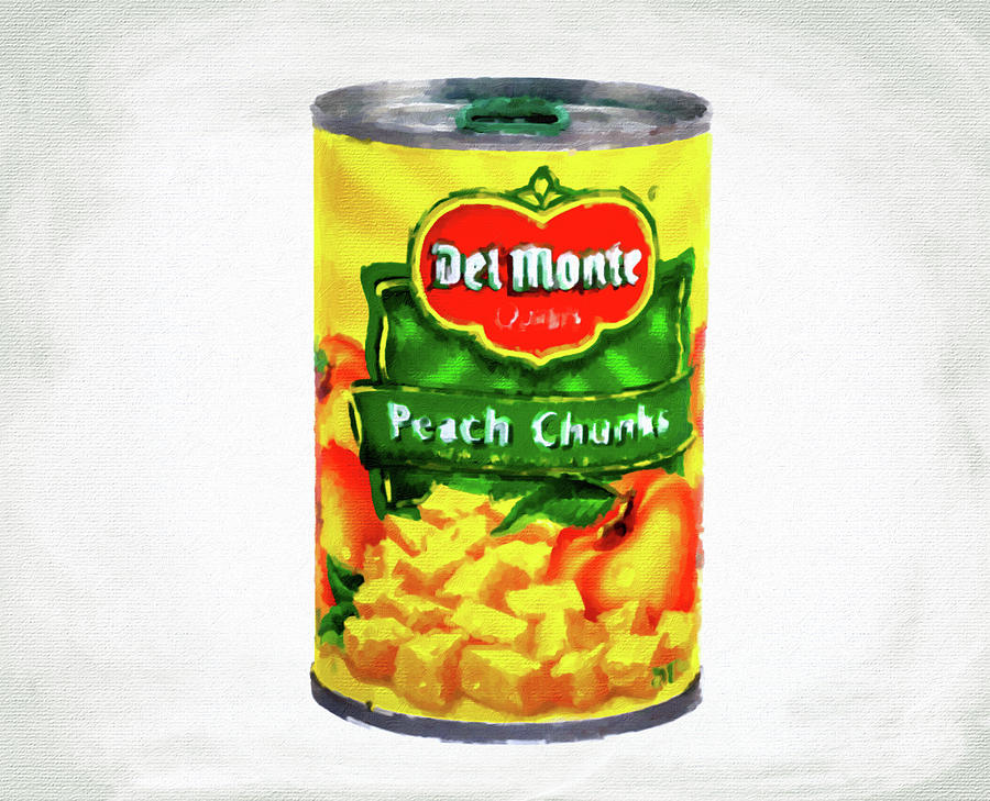 Del Monte Peach Chunks by Darryl Brooks