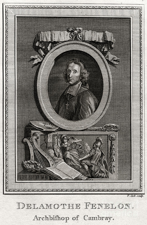Delamothe Fenelon, 1777. Artist T Cook Drawing by Print Collector