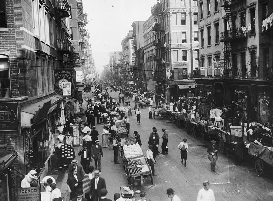 Delancey Street Ny Photograph by Hulton Archive