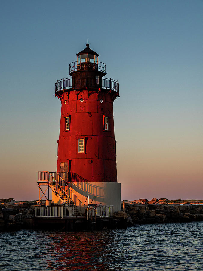 Delaware Breakwater East End Lighthouse by David Kay