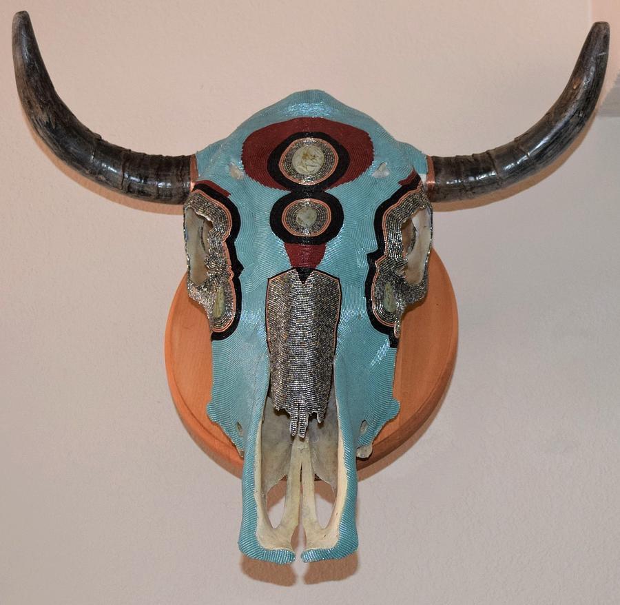 Delica Skull by Charla Van Vlack