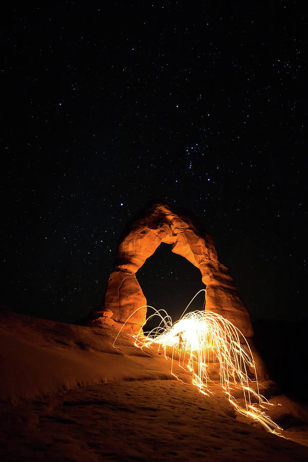 Delicate Arch Steel Wool by Nathan Bush