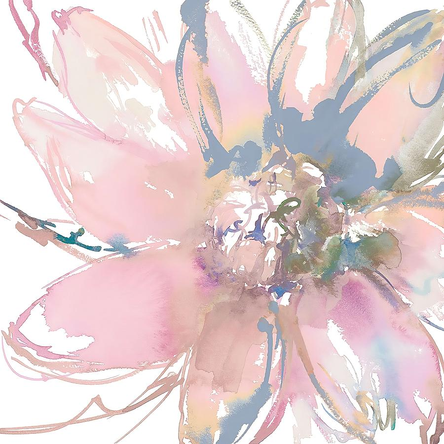 Floral Painting -  Delicate Flower Burst    by Lanie Loreth