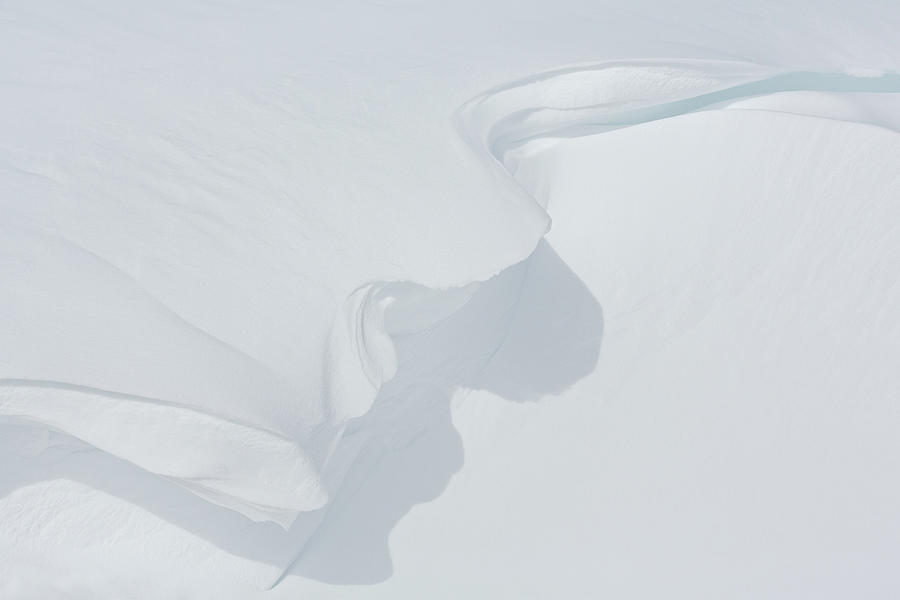 Delicate Snow Cornice by Ann Skelton