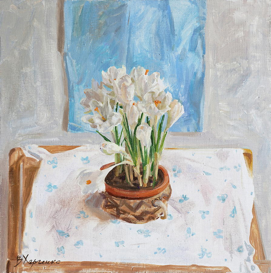 Delicate Spring Painting