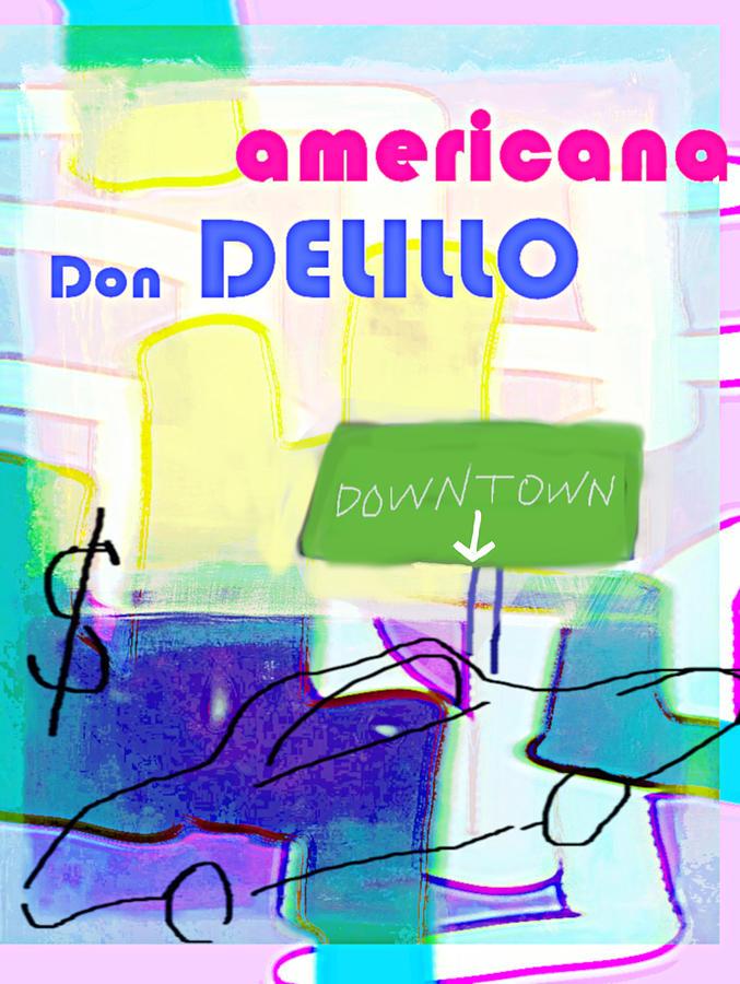 Delillo Americana  poster by Paul Sutcliffe