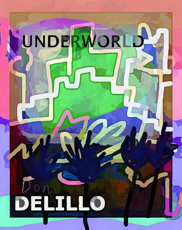 Delillo Underworld 2 poster  by Paul Sutcliffe