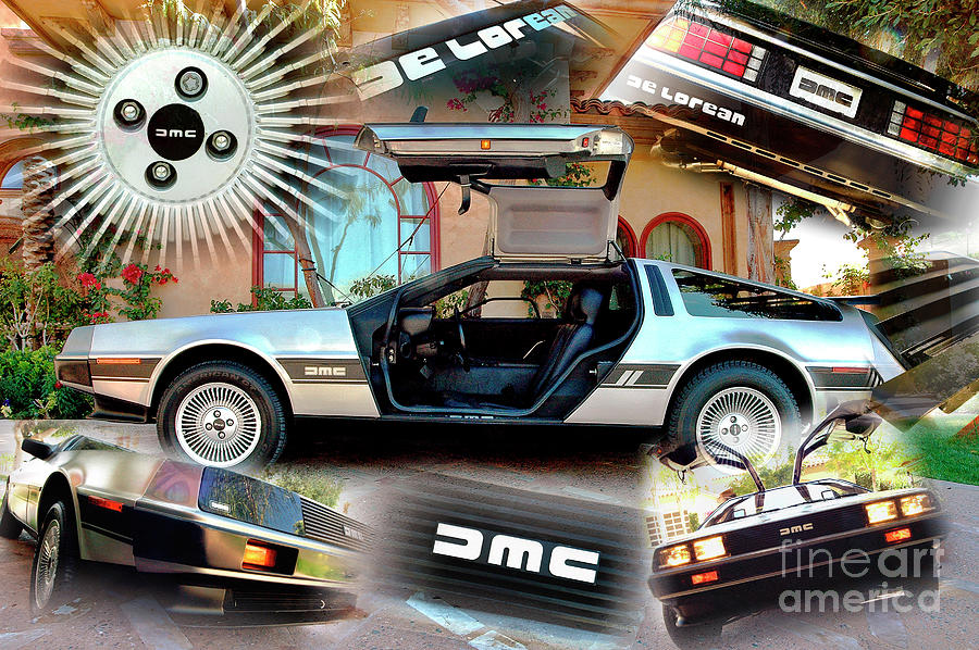 DeLorean by Charles Abrams