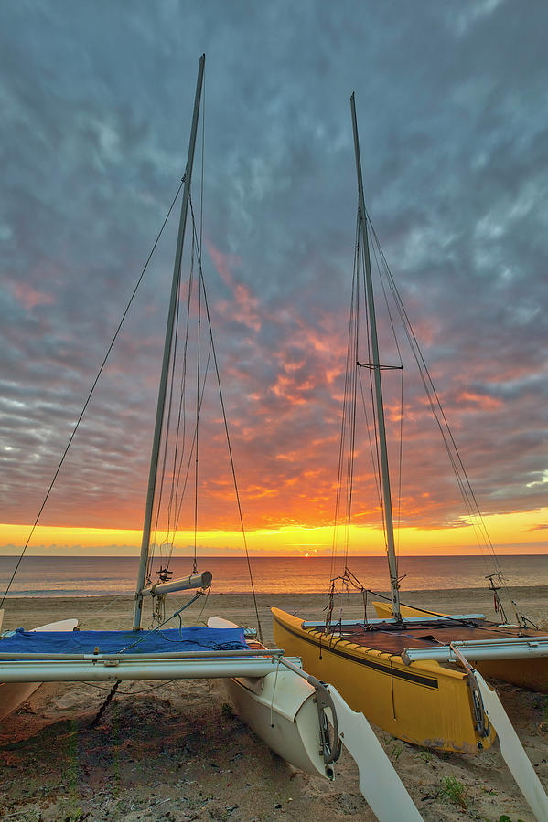 Delray Beach Catamaran by Juergen Roth