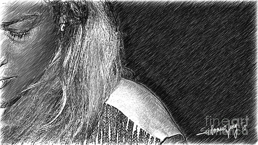 Demi portrait by Silvano Franzi