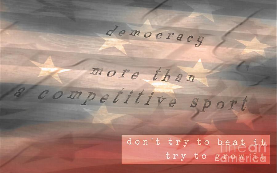 Democracy by Tim Richards
