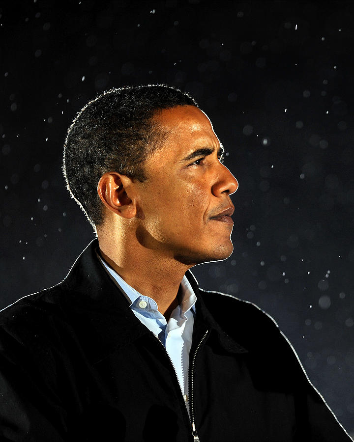 Democratic Presidential Nominee Barack Photograph by New York Daily News Archive