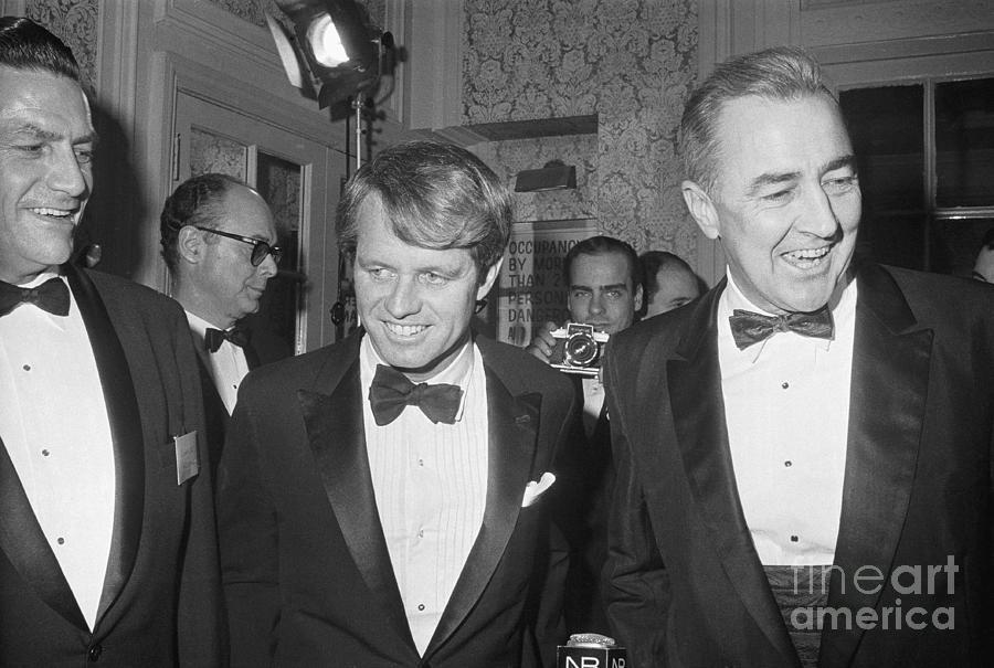 Democratic Senators Kennedy And Mccarthy Photograph by Bettmann