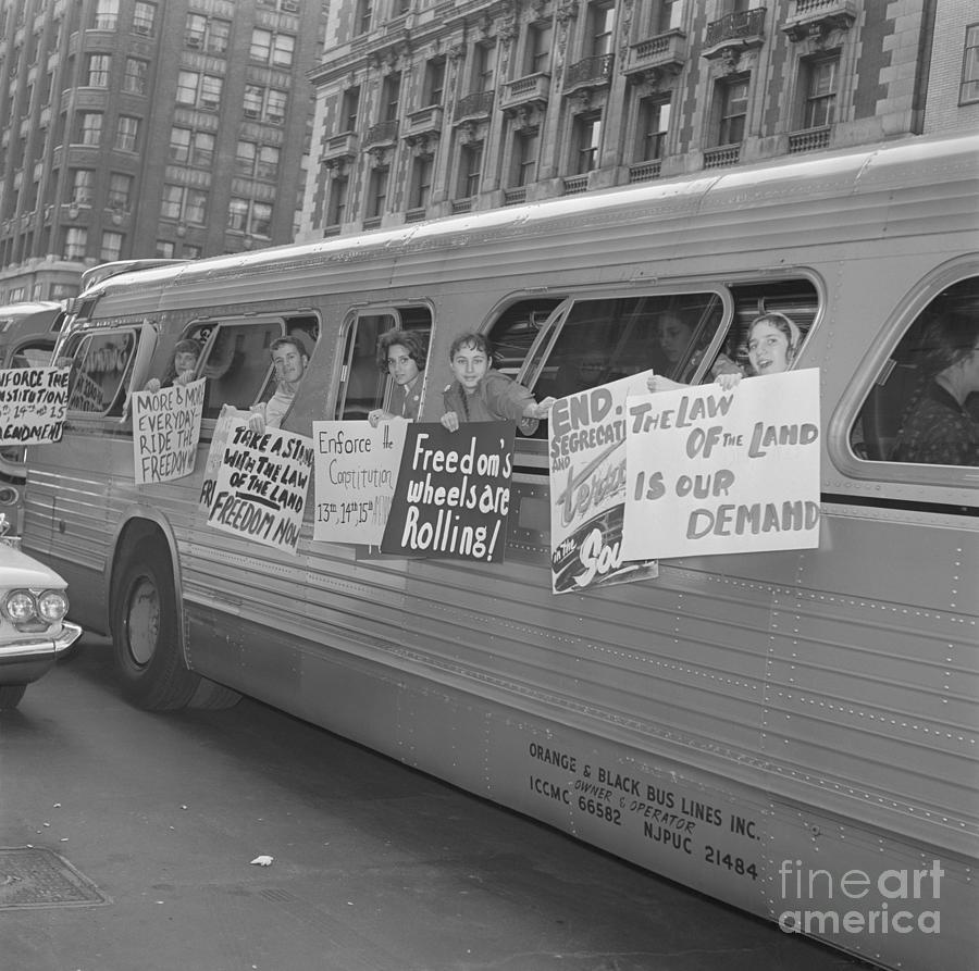 Demonstrators Demanding Civil Rights Photograph by Bettmann