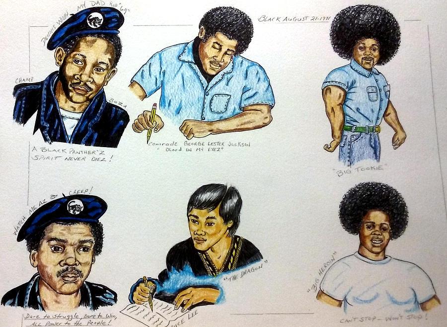 Dennis, George, Tookie, Joe, Bruce, and Big Heroin by Joedee