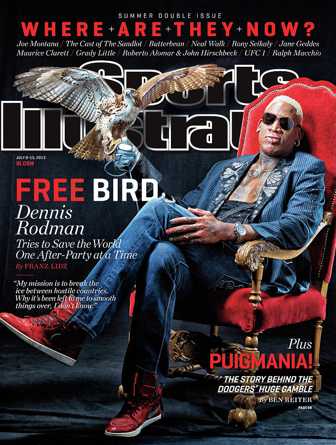 Dennis Rodman, Where Are They Now Sports Illustrated Cover Photograph by Sports Illustrated