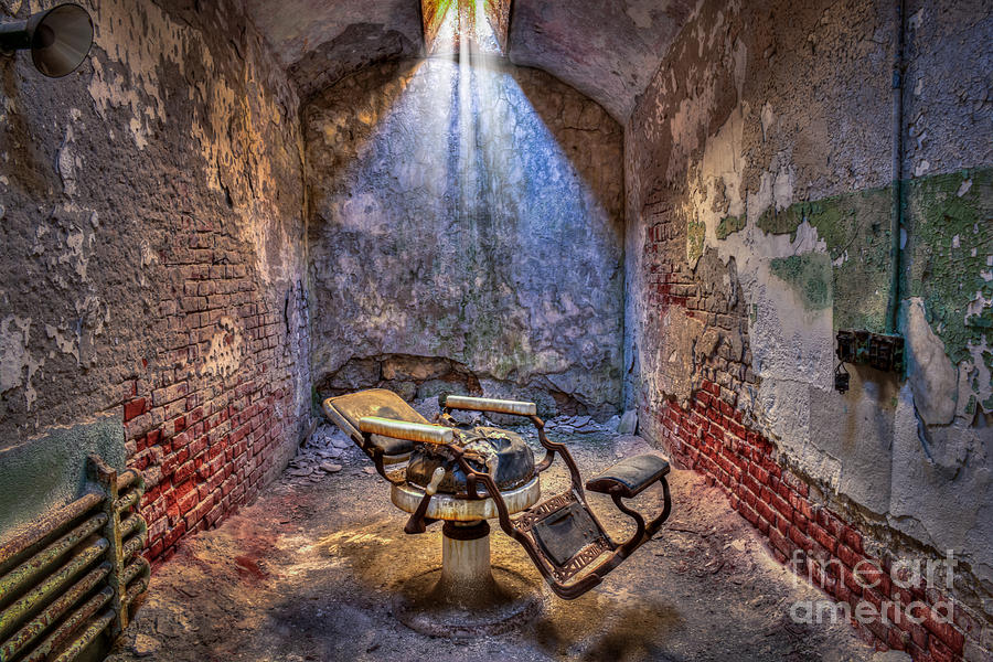Dental Chair Eastern State Penitentiary by Anthony Sacco