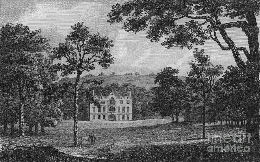 Denton Court Drawing by Print Collector