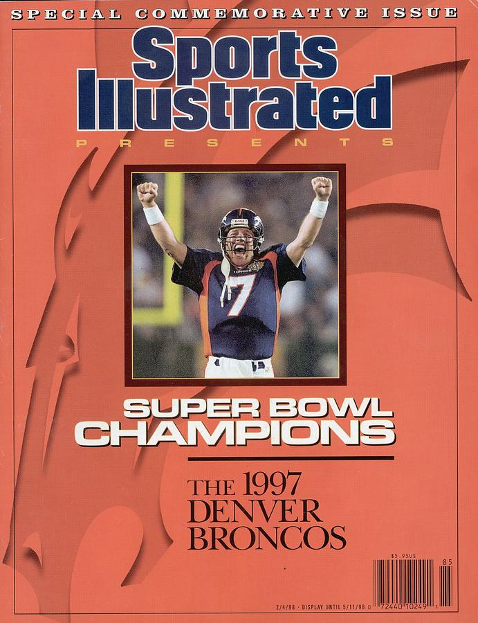 Denver Broncos Qb John Elway, Super Bowl Xxxii Sports Illustrated Cover Photograph by Sports Illustrated