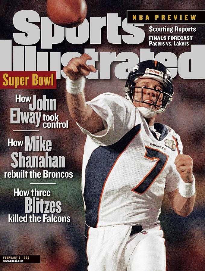 Denver Broncos Qb John Elway, Super Bowl Xxxiii Sports Illustrated Cover Photograph by Sports Illustrated