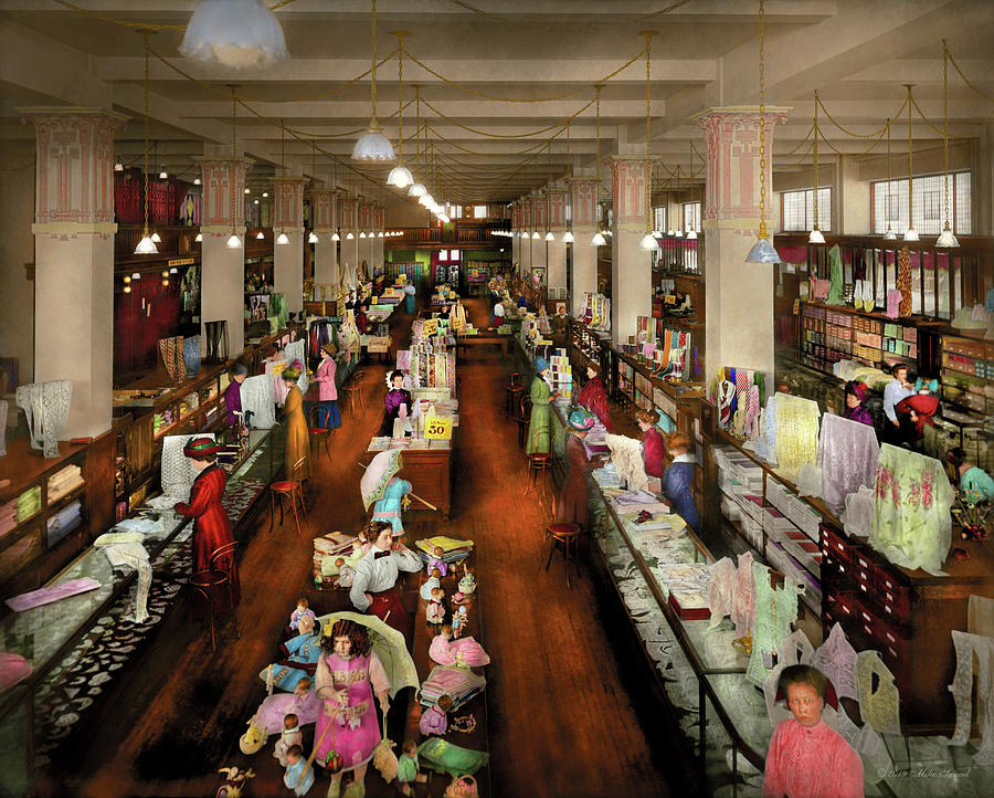 Department Store - Ladies choice 1916 by Mike Savad