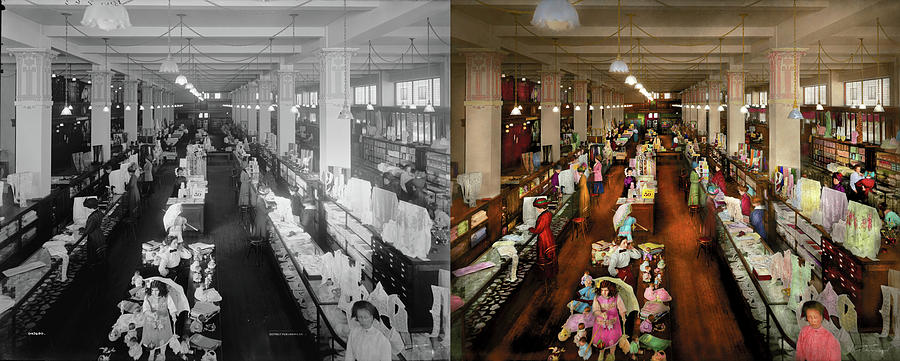 Department Store - Ladies choice 1916 - Side by Side by Mike Savad