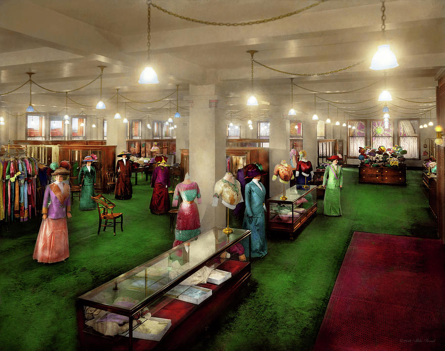 Department Store - The Edwardian Department Store 1912 by Mike Savad