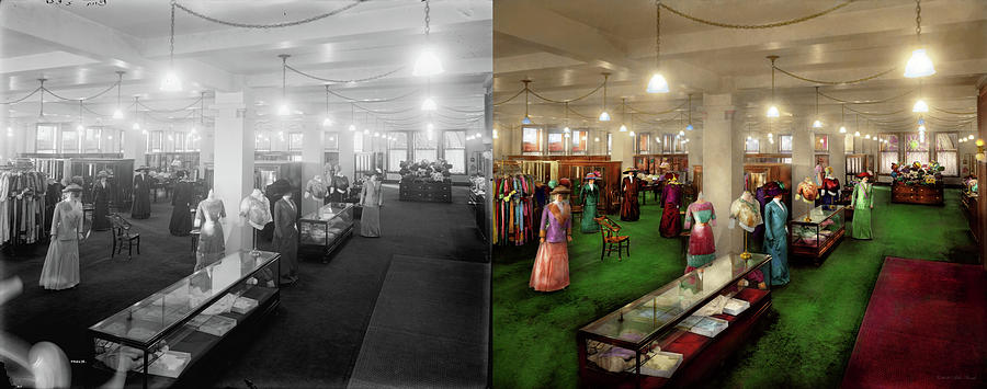 Department Store - The Edwardian Department Store 1912 - Side by Side by Mike Savad