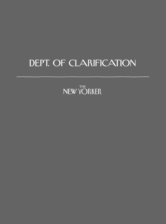 Dept. Of Clarification Digital Art by Conde Nast