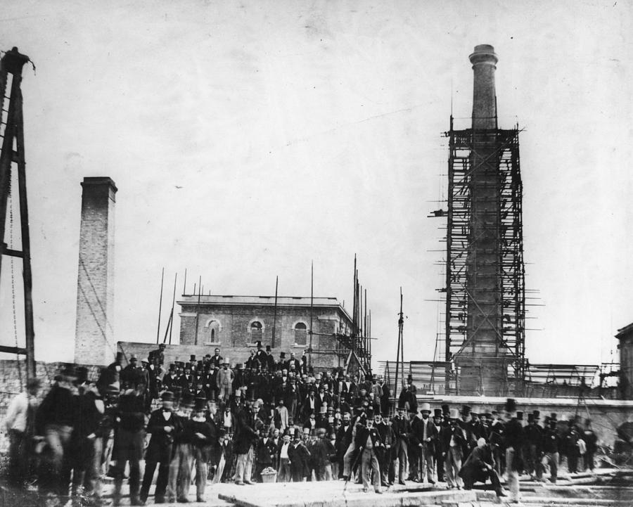 Deptford Pumping Station Photograph by Hulton Archive