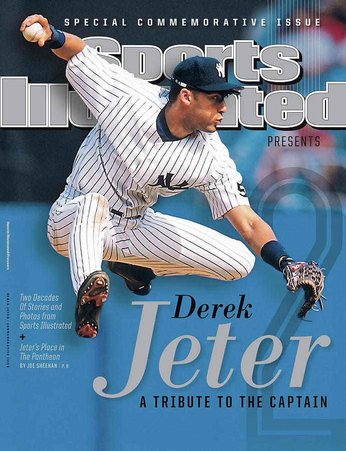 Derek Jeter A Tribute To The Captain Sports Illustrated Cover Photograph by Sports Illustrated