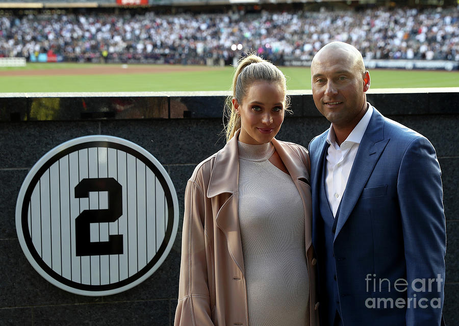 Derek Jeter Ceremony Photograph by Elsa