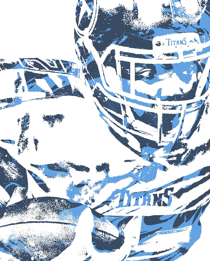 3258a777 Derrick Henry Tennessee Titans Pixel Art 100 by Joe Hamilton