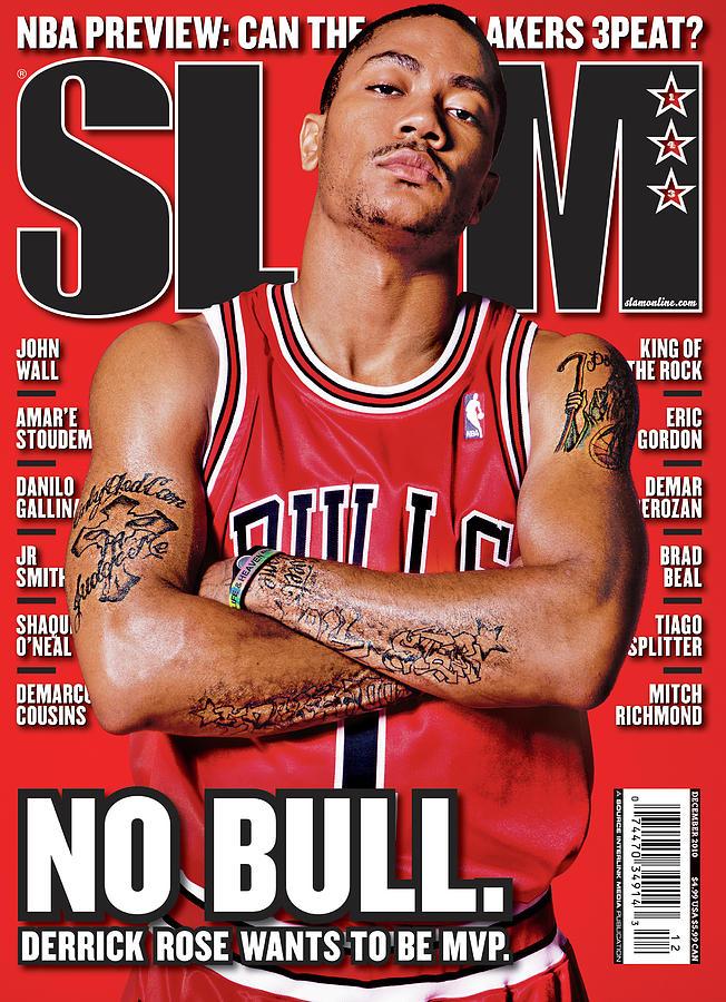 Derrick Rose Photograph - Derrick Rose Wants to be MVP: No Bull. SLAM Cover by Atiba Jefferson