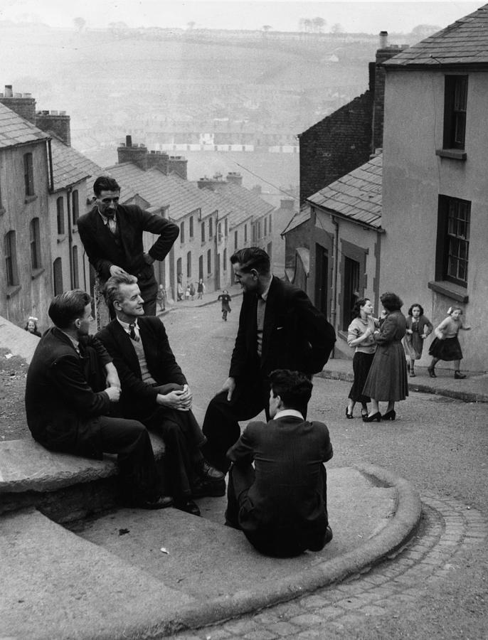 Derry Men Photograph by Bert Hardy